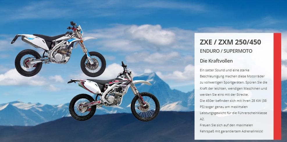 ZXM 250/450